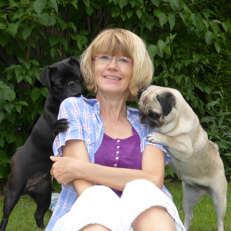 Angela, Pia und Sally